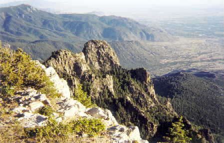 Sandia Peak, near Albuquerque