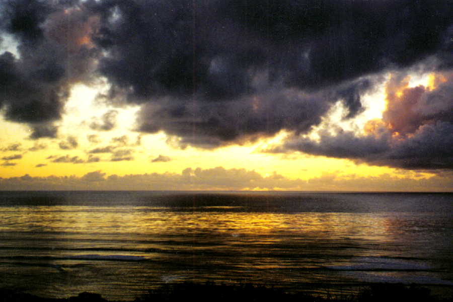 San Diego Sunset, February 2001